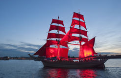 Free Scarlet Sails Royalty Free Stock Photo - 27699065