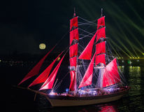 Scarlet Sails Festival Royalty Free Stock Images