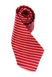 Scarlet tie Stock Image