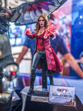 Scarlet Witch in Captain America 3 Royalty Free Stock Photo