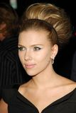 Scarlett Johansson Στοκ Φωτογραφίες