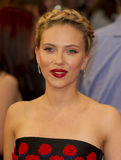 Scarlett Johansson. Arrives for the Avengers Assemble premiere at the Vue cinema Westfield, London. 19/04/2012 Picture by: Simon Burchell / Featureflash Stock Photography