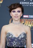 Scarlett Johansson. At the premiere of Disney and Marvel`s `Avengers: Infinity War` held at the El Capitan Theatre in Hollywood, USA on April 23, 2018 Royalty Free Stock Images