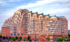 Scarlett Place Building in Baltimore Harbor East Stock Images