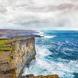 Scarp i seashore w Connemara obraz royalty free