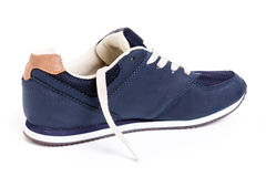 scarpa blu della via Immagine Stock Libera da Diritti