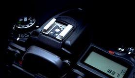 Scarpa calda per una macro della macchina fotografica di DSLR Immagini Stock Libere da Diritti