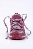 Scarpa da tennis dentellare Fotografia Stock