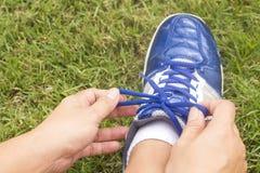 Scarpa di sport per correre Fotografia Stock