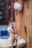 Scarpa e borsa decorative Immagini Stock Libere da Diritti