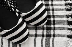 Scarpa femminile di estate Fotografia Stock