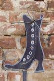Scarpa stilizzata Fotografie Stock Libere da Diritti