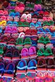 Scarpe asiatiche Fotografie Stock