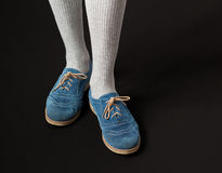 Scarpe casuali delle donne Fotografia Stock Libera da Diritti