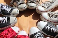 Scarpe da tennis Fotografia Stock Libera da Diritti