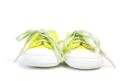 Scarpe da tennis del bambino Fotografia Stock Libera da Diritti