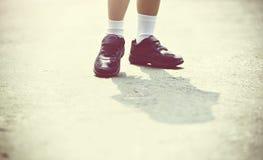 Scarpe dei bambini Immagini Stock Libere da Diritti