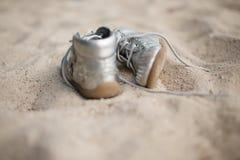 Scarpe dei bambini Fotografia Stock