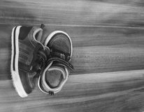 Scarpe del bambino Fotografia Stock
