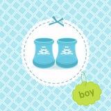 Scarpe del neonato Immagini Stock Libere da Diritti