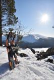 Scarpe della neve Immagini Stock