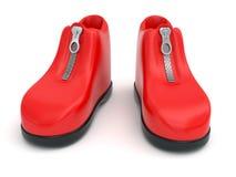 Scarpe della plastilina Fotografie Stock Libere da Diritti