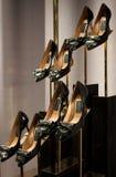 Scarpe delle donne di Ferragamo Fotografie Stock