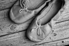 Scarpe di balletto immagine stock libera da diritti