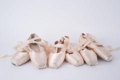 Scarpe di balletto Immagini Stock Libere da Diritti