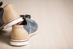 Scarpe di bowling. Immagine Stock