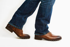 Scarpe di camminata Fotografia Stock Libera da Diritti