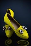 Scarpe di cuoio Fotografia Stock Libera da Diritti