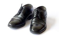 Scarpe di cuoio del ` s degli uomini fotografie stock libere da diritti