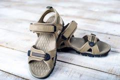 Scarpe di estate dei sandali Immagini Stock Libere da Diritti