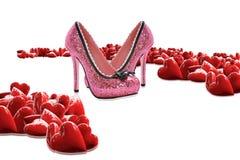 Scarpe di lusso Fotografia Stock Libera da Diritti