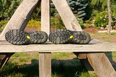 Scarpe di Outsole Immagini Stock