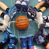 Scarpe di pallacanestro Immagini Stock Libere da Diritti