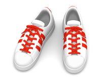 Scarpe di sport, illustrazione 3D Immagine Stock