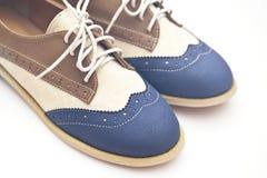 Scarpe di svago Fotografia Stock