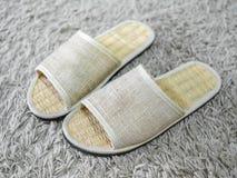 Scarpe di tessitura fotografie stock