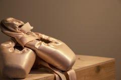 Scarpe di un ballerino professionista immagine stock