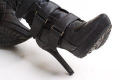 Scarpe di una femmina Fotografia Stock Libera da Diritti