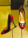 Scarpe eleganti delle signore Fotografia Stock Libera da Diritti
