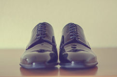 Scarpe maschii di modo Immagini Stock