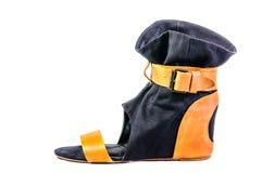 Scarpe, paia delle scarpe femminili Fotografie Stock Libere da Diritti