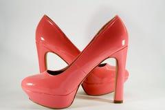 Scarpe rosse Fotografia Stock Libera da Diritti