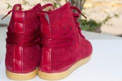 Scarpe rosse Immagine Stock Libera da Diritti