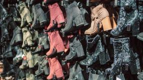 Scarpe a tacco alto del ` s delle donne Fotografia Stock