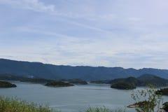 Scarpments en de Atlantische Oceaan in Rio de Janeiro State, Brazilië royalty-vrije stock foto's