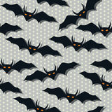 Scarry bat pattern Royalty Free Stock Photo